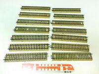 BU173-1# 14x Märklin H0/00/AC Gleisstück gerade M-Gleise für 3600/800 Vollprofil