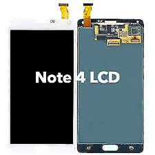 White Digitizer LCD assembly for Samsung Galaxy Note 4 OLED No Frame