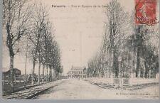 60 - CPA FORMERIE - Rue et Square de la Gare