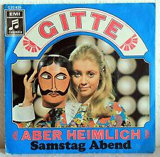 """Single 7"""" Vinyl-Schallplatten (1960er) mit deutscher Musik"""