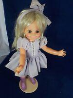 """Ideal Crissy Doll Grow Hair Talker Go Go Boots16"""" 1968"""