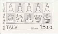Faroer booklet postfris 1983 MNH MH1 (82-83) - Schaakfiguren (B033)