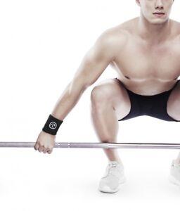 Rehband 101306-01 Black Wrist Support - Crossfit Weightlifting Powerlifting