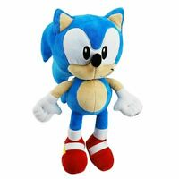Sonic The Hedgehog Plush Figure 30cm Official Sega Soft Cuddly Stuffed Toy NEW