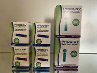 Prodigy NO CODING Diabetic Blood Glucose 200 Strips + 200  lancets EXP 02/2022