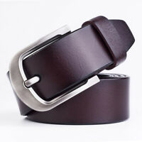 Classic Men Leather Casual Pin Buckle Waist Strap Belt Waistband Adjustable New