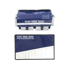 TUFF TOOL BAGS TRADIES DEAL VINYL TOOL BAG AND 12 SLOT SPANNER ROLL HEAVY DUTY