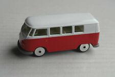 Majorette VW Bus T1 Volkswagen rot/weiß Fensterbus Bulli Oldtimer KEIN Samba
