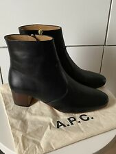 A.P.C. Joey Ankle Boots With Small Heel, black size EU 39 - Never Worn!