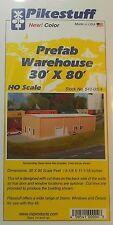 Pikestuff HO Scale PreFab Warehouse Building Kit NEW 541-0004