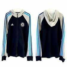 Chelsea Hoodied Jacket. Small Adults. Adidas. Blue Adults S Long Sleeves Hoody.