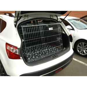PET WORLD Nissan Qashqai 2013+ Slopping car Puppy Dog Travel crate cage