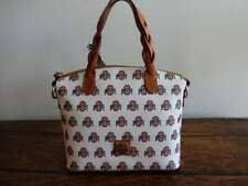DOONEY & BOURKE OHIO STATE Red White Black LOGO Small CELESTE SATCHEL Bag
