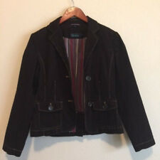 Boden Womens Jacket Corduroy Classic Career Casual Brown US Size 10