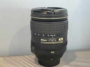 Nikon AF-S FX NIKKOR 24-120mm f/4G ED Vibration Reduction Zoom Lens