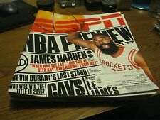 JAMES HARDEN - ESPN Magazine OCT 2015 ISSUE   *NBA PREVIEW*