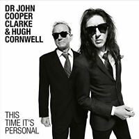 JOHN COOPER CLARKE HUGH CORNWELL STRANGLERS LP This Time It's Personal Vinyl LP