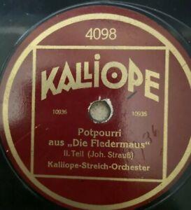 """Konvolut  100 Schellackplatten 78rpm Klassik 12"""" / 30cm für Grammophon"""