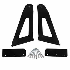 """52"""" Curved LED Light Bar Brackets Windshield Mounting Fit for 04-14 Ford F150"""