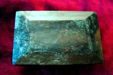 New listing Rare Giant Emerald specimen/collector's item, hand-polished, emerald cut