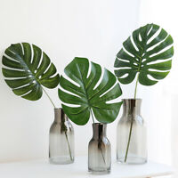1Pc Nordic Style Fake Monstera Leaf Plant Home Office Decoration Photo Prop HEA