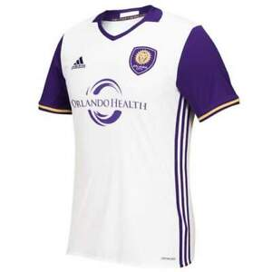 Adidas MLS Orlando City Away Soccer Jersey Mens Size M AK0526