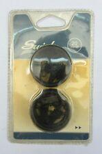 Anelli per Tende in acciaio Nero opaco 20mm marca Swish Art. 60303