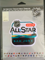 2019 NHL ALL STAR GAME PATCH SAN JOSE SHARKS NATIONAL HOCKEY LEAGUE OFFICIAL