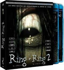 Edición Coleccionistas Pack The Ring & The Ring 2 (2 Blu-Rays + 2 Dvds+2 Libros)