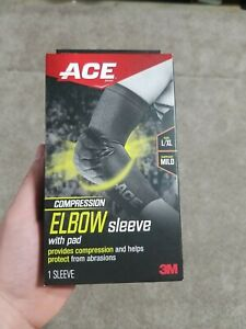 New 3M, ACE Elbow Pads 908002, One Size Sealed