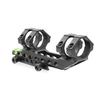 Metal 30mm Ring 20mm Picatinny Rail Scope Mount& Spirit Bubble Level for Rifle