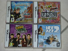 Lot 4 jeux Enfant DS My Pompier Hero Kid Paddle l'Age de Glace 2 Camp Rock