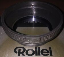 2x Rollei Movie 58mm Collapsible Rubber Lens Hood For RM 4 6 8 Made In Japan