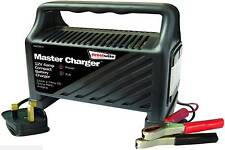 12 Volt 6 Amp Car Van Boat Bike Motorhome LED Compact & Robust Battery Charger