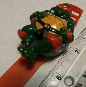 Vintage Teenage Mutant Ninja Turtles Figure Bracelet Toy