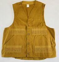 Vintage Red Head Hunting Vest 12 Gauge Shooting Ammo Shell Pockets USA Large 60s