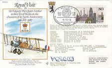 RV1c The Queen Mothers Visit to Berlin Signed Schofield 9 7 87 Berlin Postmark