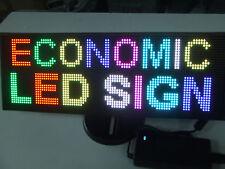 PANNELLO SCORREVOLE INSEGNA A LED RGB AC 220 VOLT
