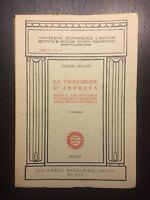 La produzione d'impresa - Giorgio Pivato - Marzorati - 1956