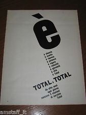 AC22=1963=TOTAL CARBURANTE STAZIONE=PUBBLICITA'=ADVERTISING=WERBUNG=