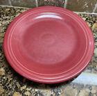 1 Fiestaware Dinner Plate Fiesta Scarlet Red 10.5 inch Plate