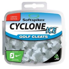 NEW Softspikes Cyclone Ice Golf Shoe Cleats Fast Twist Clear/Grey Fits FootJoy
