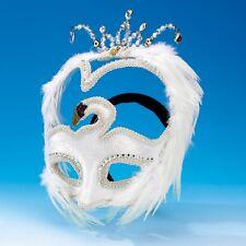 White Swan Mask - Masked Ball - Swan Lake Ballet Dance Headdress