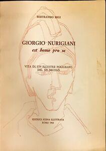 GIORGIO NURIGIANI EST BOMO PRO SE - BERTRANDO BIGI - SCENA ILLUSTRATA 1964