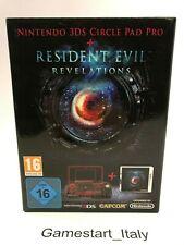 RESIDENT EVIL REVELATIONS + 3DS CIRCLE PAD PRO - NINTENDO 3DS - NUOVO SIGILLATO