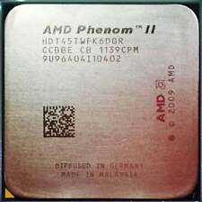 AMD Phenom II X6 1045T HDT45TWFK6DGR 2.7GHz AM3 6M Cach 95W CPU Processor Tested
