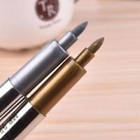 Metal Waterproof Permanent Paint Marker Pens Sharpie Manga Markers Drawing Pen