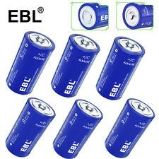 Lot EBL C LR14 D LR20 Alkaline Batteries Non-rechargeable 1.5V Cells Exp 2030