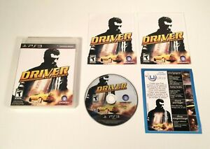 Driver San Francisco - Sony Playstation 3,PS3 - Game Complete - Tested