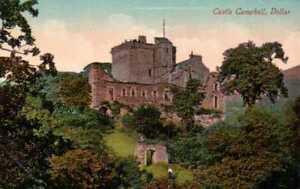[54670] Dollar Scotland early postcard